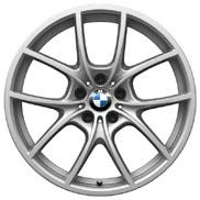 BMW V-Spoke 356-Bicolor Wheel and Tire Set
