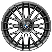 BMW Cross Spoke 312 in Ferric Gray Wheel and Tire Set