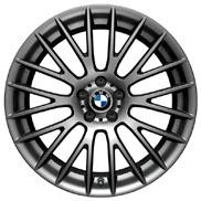 BMW Cross Spoke 312 in Ferric Gray Wheel and Tire Set