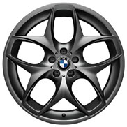 BMW Double Spoke 215 - Black Wheel and Tire Set