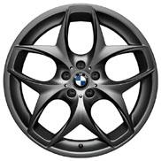 BMW Double Spoke 215 - Black Wheel and Tire Set