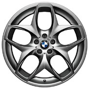 BMW Double Spoke 215 Ferric Gray Wheel and Tire Set