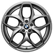BMW Double Spoke 215 Ferric Gray Wheel and Tire Set