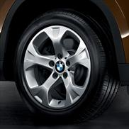 BMW Cold Weather Star Spoke 317 Alloy Wheel and Tire
