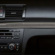 BMW Carbon Fiber Interior Trim for Vehicles with Navigation