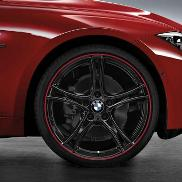 BMW Double Spoke 361 Wheel and Tire Set - Black