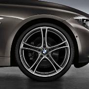 BMW Double Spoke 361 Wheel and Tire Set - Ferric Grey