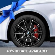 BMW 624M Wheel and Tire Set Black