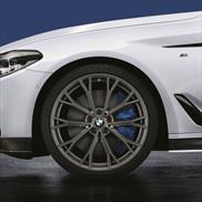 BMW M Performance Style 669M Orbit Grey Complete Summer Wheel & Tire Set