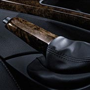 BMW Walnut Brake Handle