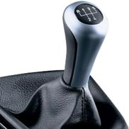 BMW Leather/Chrome Gear Shift Knob