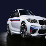 BMW Motorsport Stripes