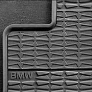 BMW All Weather Rear Floor Mats