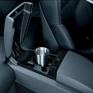 BMW Rear Seat Center Console Drink Holder