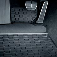 BMW All Weather Floor Mats with Carpeted Heel Pad