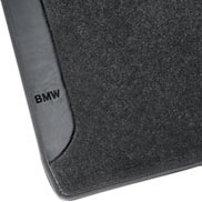 BMW Carpeted Floor Mats with BMW Lettering