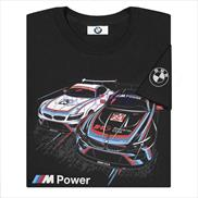 BMW M Power Z4 GTLM Short Sleeved T-shirt Black