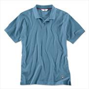 BMW Men Polo Shirt Blue