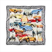 BMW Iconic Silk Scarf Space Grey