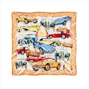 BMW Iconic Silk Scarf Orange