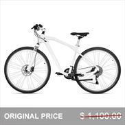 BMW Cruise Bike Mineral White/Silver