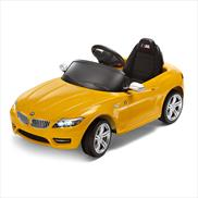 BMW Z4 RideOn Electric Car Yellow