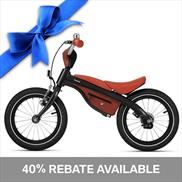 BMW Kids Bike Black/Orange