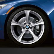 "BMW 17"" Style 276 Winter Complete Wheel and Tire Set"