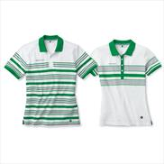 BMW Striped Golfsport Polo Shirt