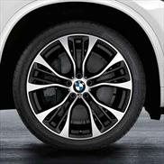 BMW M Performance Double Spoke 599M Wheels and Tires - Complete Set