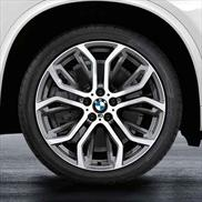BMW Double Spoke 375 Wheels and Tires - Complete Set