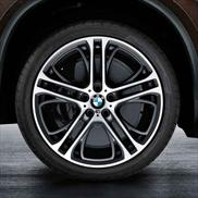 "BMW Double Spoke 310M 21"" Wheels and Tires - Complete Set"