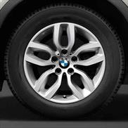 "BMW 17"" Style 305 Cold Weather Complete Wheel and Tire Set"