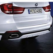 BMW M Performance Matte Black Rear Diffuser