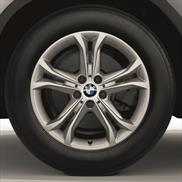 BMW Winter Complete Wheel & Tire Set, Style 688, in Silver