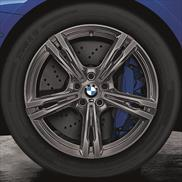 BMW Winter Complete Wheel & Tire Set, Style 705M, Ferric Grey