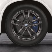 19 Inch Style 698M Orbit Grey BMW Complete Wheel Set