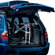 BMW X3 Cargo Area Bike Rack
