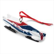 Team USA Bobsled Ornament
