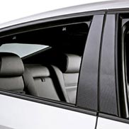 BMW Carbon Fiber-Look Door Pillar Accents