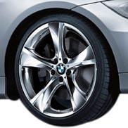BMW Star Spoke 311 in Chrome Individual Rims