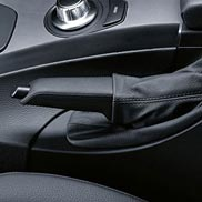 BMW Leather Brake Handle