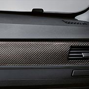 BMW Carbon Fiber Interior Trim