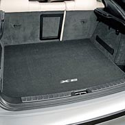 BMW X6 Embroidered Luggage Compartment Mat