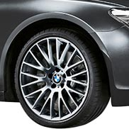 BMW Cross Spoke 312 in Ferric Gray Individual Rims