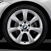 "BMW 18"" Style 396 Winter Complete Wheel and Tire Set"