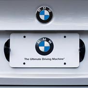 BMW License Plate Mounted Park Distance Control Kit (Rear Only)