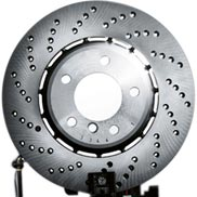BMW Cross-Drilled Brake Discs