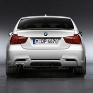 BMW Rear Carbon Diffuser for Performance Aero Kit (For vehicles produced 9/08 on)