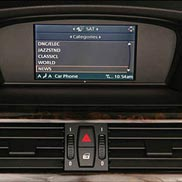 BMW SIRIUS Satellite Radio (For vehicles produced up to 02/08)
